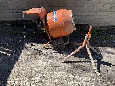 Belle Mini MIx 150 240v Electric Cement Mixer / Concrete Mixer + Stand