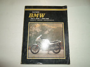 1985 1987 1989 clymer bmw k75 k100 service repair. Black Bedroom Furniture Sets. Home Design Ideas