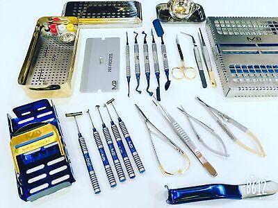 Dental Prf Box Kit Bone Surgery Instruments Implant Surgical Soft Brushings Kit