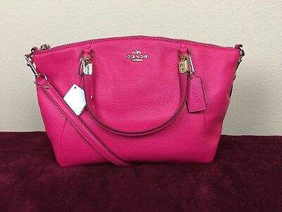 50% OFF - NWT Coach Leather Satchel Handbag - Hot Pink