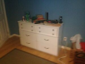 Children's dresser and end table.