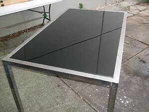 Glass top Table ( Dining table )L 90 cm x W 150 cm x H 74 cm Kingsgrove Canterbury Area Preview