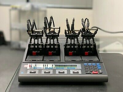 Cadex C7000 Battery Analyzer/Tester with 4 universal adapters & null modem cable