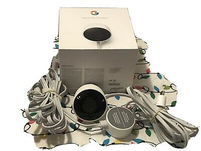 Google Nest Outdoor Security Camera 1080P Camera Alarm System Used - NC2100ES