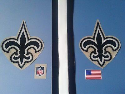 - New Orleans saints football helmet decals set