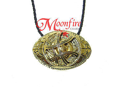 Doctor Strange Eye Of Agamotto Movie Intricate Pendant Necklace Best Quality