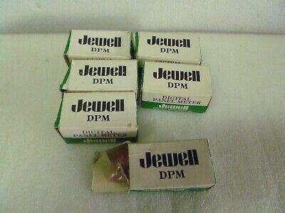 Lot Of 6 Jewell Digital Panel Meter 5900100090 20l96