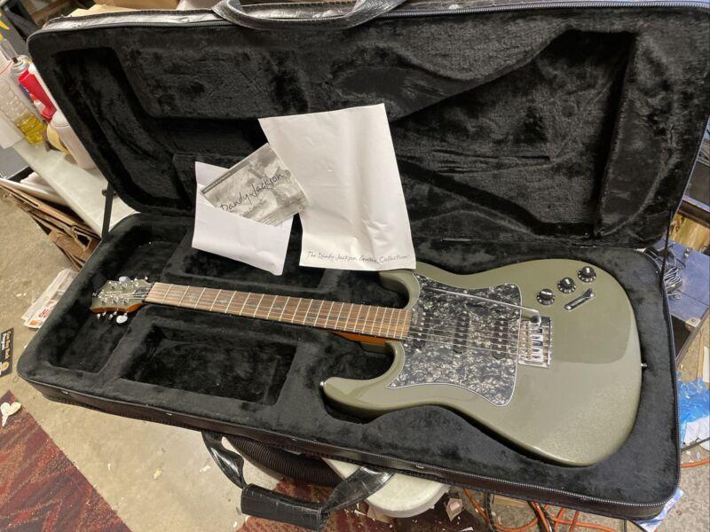 Randy Jackson Electric Guitar Brown Ltd Ed. True Faith Collection w/ Coa & Case