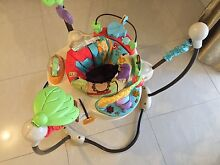 fisher price jumperoo, kick play mat, high chair, walkers, fence. Modbury Tea Tree Gully Area Preview