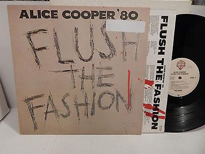 ALICE COOPER '80 Flush the Fashion German Import WB 56805 Mint Vinyl LP NM