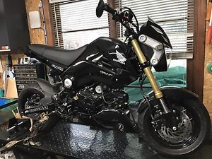 2014 Honda Grom Lots of Addons