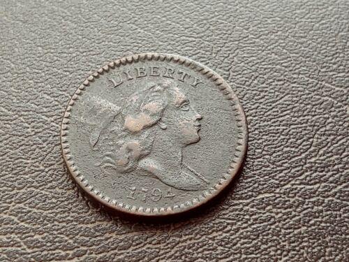 1794 High Relief Head Liberty Cap VF Half Cent