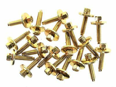 GM Truck Body Bolts- M6-1.0mm x 28mm Long- 8mm Hex- 19mm Washer- Qty.20- #177