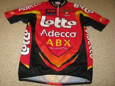 Lotto Adecco Nalini Italian cycling jersey [5] NOS