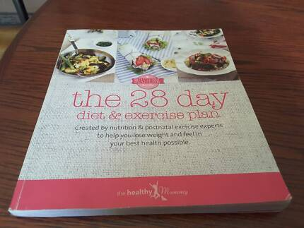 Healthy mummy cook book the 28 day diet and excercise plan Chisholm Tuggeranong Preview
