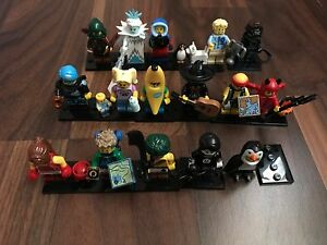Lego Minifigures Series 16 - Complete Set (all 16) Beechboro Swan Area Preview