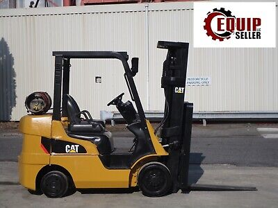 2015 Caterpillar 2c6000 6000lb Forklift