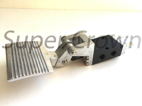 """Foot Pedal Control Valve 2 Position 3 Port 1/4"""" Thread Air Pneumatic Switch 303"""