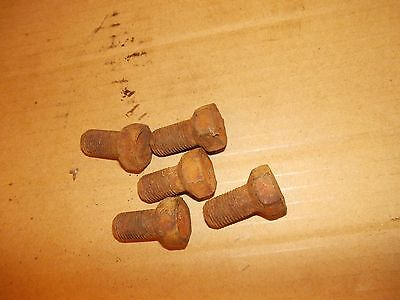 5 Allis Chalmers Wd Wd45 45 Tractor Ac Front Hub Stud Bolts Bolt For Rims To H
