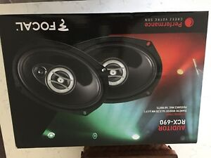 Focal 6x9 car speakers