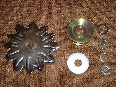 Fan  Pulley set for Lucas A127 Alternator 64mm