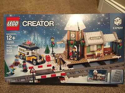 LEGO Creator - Winter Village Station - Set 10259 - New In Sealed Box