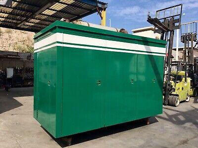 250 Kw Cummins Natural Gas Generator Set W Low Hours