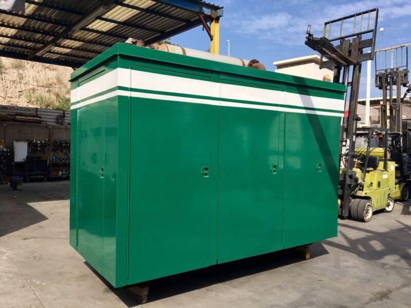 250 KW Cummins Natural Gas Generator Set W/ Low Hours