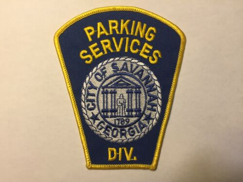 Savannah GEORGIA Parking Services Patch