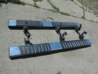 Used Take Off Assist Steps Running Boards  Silverado 1500 2500 3500 HD Sierra
