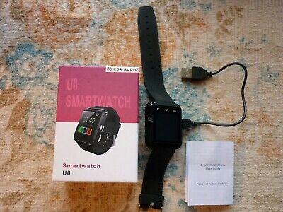 KOR AUDIO Smartwatch Android/Bluetooth (Music, USB, Handsfree) Phone, Camera comprar usado  Enviando para Brazil