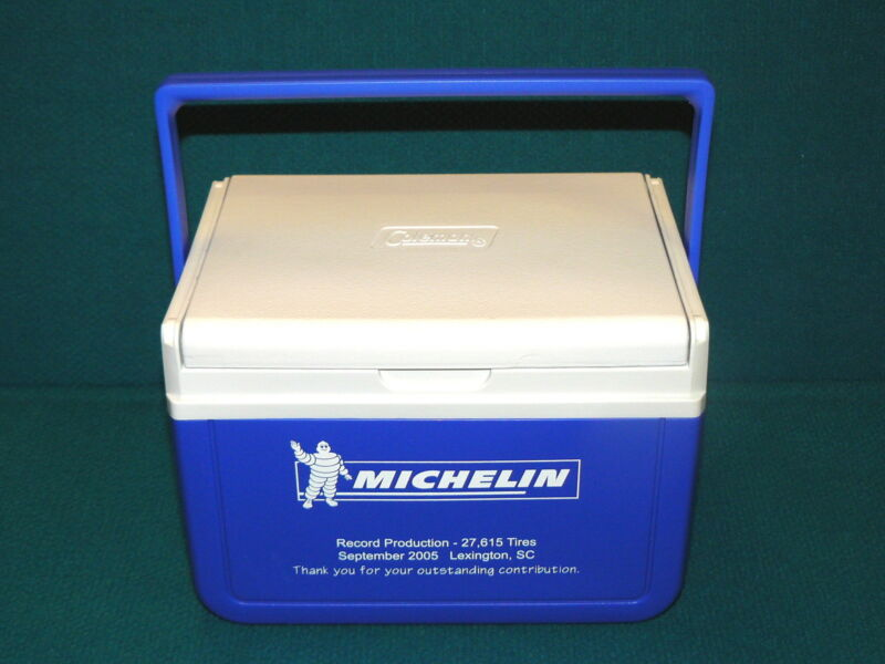 "MICHELIN TIRES ""Record Production"" COLEMAN six-pack COOLER @ Employees Only"