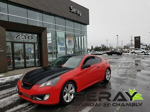 2010 Hyundai Genesis Coupe 2.0T GT, mags, cuir, bluetooth, toit,