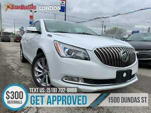 2016 Buick LaCrosse Leather   ONE OWNER   CAM