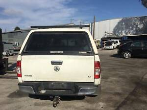 HOLDEN RODEO DOUBLE CAB WHITE WITH CANOPY 2007 Dandenong South Greater Dandenong Preview