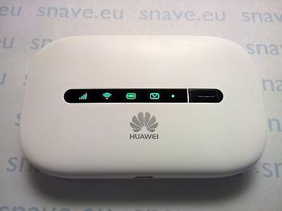 SIM FREE Original Huawei E5330 3G Mobile Broadband Wi-Fi Router, Mi-Fi, white