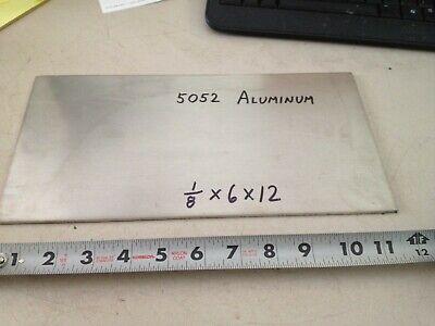 Aluminum Plate Bar 18 X 6 X 12  Project Stock