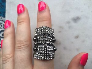 Awesome shield crystal ring knuckle duster Windsor Brisbane North East Preview