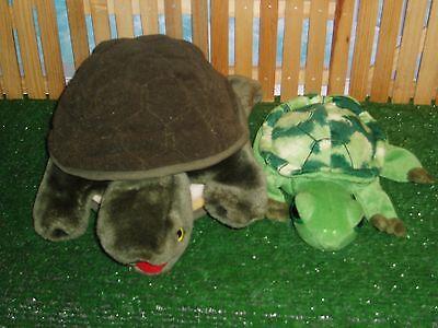FOLKMANIS TURTLE HAND PUPPET & TURTLE STUFFY