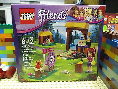 Lego 41120 Friends Adventure Camp Archery Mia Hedgehog Minifigure Boxed Set