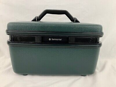 Vintage Samsonite Excel Train Case Excellent Condition