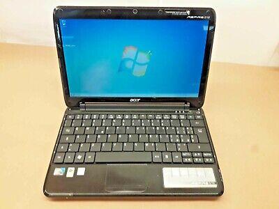 """Notebook Usado Acer Aspire One A0751H Intel Atom Z520 1GB 160GB 11.6"""" Windows 7 comprar usado  Enviando para Brazil"""