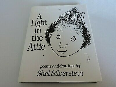 A Light in the Attic Poems Kids Poetry Book Childrens by Shel Silverstein