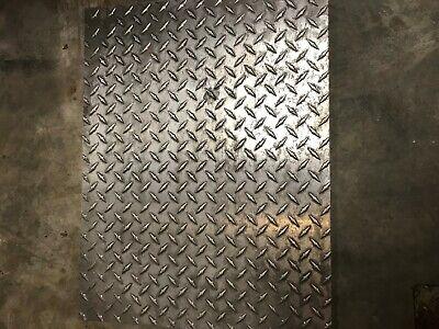 Alloy 6061 Aluminum Tread Plate - 14 X 13 X 34 3hh4