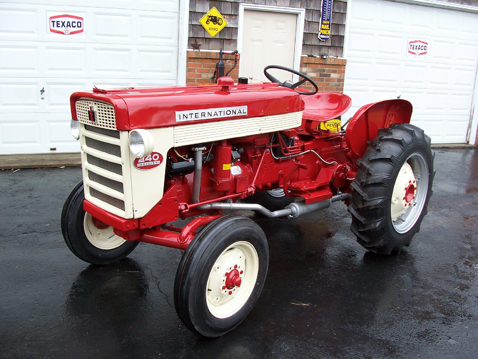 International 240 Utility Tractor : Quot new utility ih farmall tractor