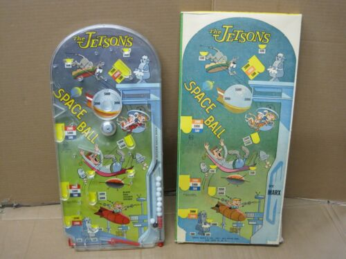 The Jetsons Space Ball Game by Marx with Original Box  Rare