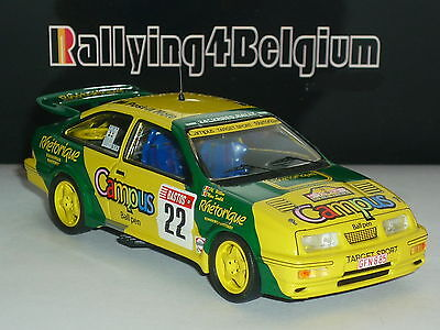 1/43 Trofeu Ford Sierra Cosworth #22 Campus Rally Ypres Ieper 1988 Soulet TR4B05
