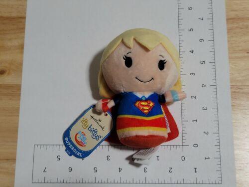 2017 Hallmark Itty Bittys DC Super Hero Girls Supergirl Plush NWT New with Tags