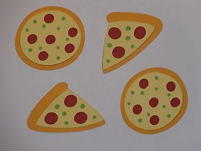4 pizza die cuts   Scrapbook die cuts