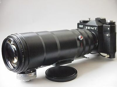 Zenit 12S Photo Sniper Kit with 300mm F4.5 Lens & Case. Stock No u7266
